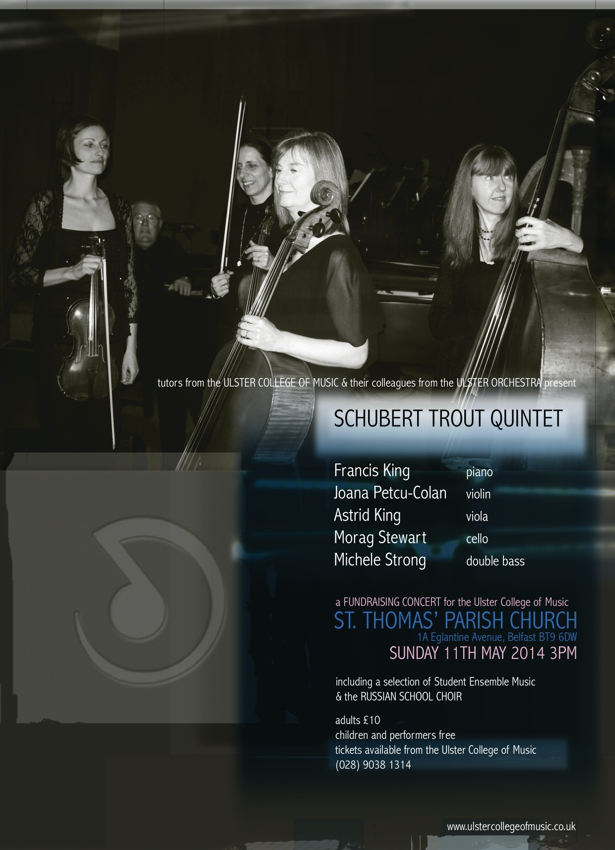 Schubert Trout Quintet - 2014