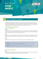 3) Music Traditions in Ireland Analyses