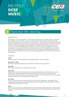 4) Popular Music 1980 to Present Analyses