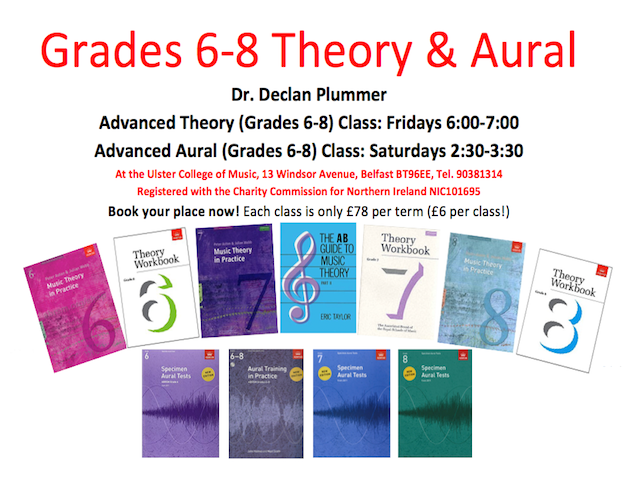 Advanced Theory & Aural Classes