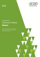 2) Scheme of Work A-Level