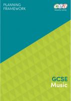 2) Scheme of Work (planning framework) GCSE