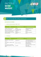 4) Scores & Recordings GCSE